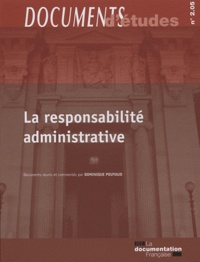 Dominique Pouyaud - La responsabilité administrative.