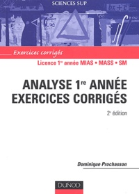 Checkpointfrance.fr Analyse 1ère année - Exercices corrigés Image
