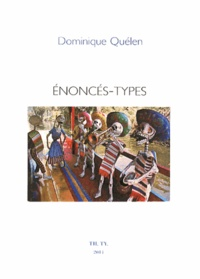 Dominique Quélen - Enoncés-types.