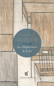 Dominique Quélen - Les Dispositions de la loi - Une lecture de Helene Reimann, Mobilier, n.d., LaM - Lille Métropole musée d'art moderne, d'art contemporain et d'art brut.