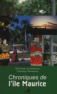 Dominique Ranaivoson - Chroniques de l'île Maurice.
