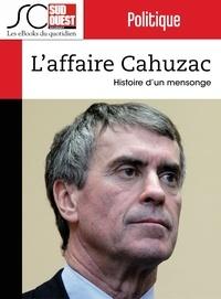 Dominique Richard et Dominique De Laage - L'affaire Cahuzac - Histoire d'un mensonge.
