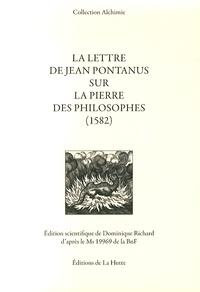 Dominique Richard - La lettre de Jean Pontanus sur la pierre des philosophes (1582).