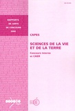 Dominique Rojat - CAPES Sciences de la Vie et de la Terre - Concours interne et CAER.