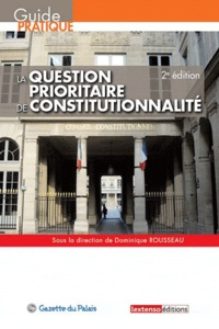 Deedr.fr La question prioritaire de constitutionnalité Image