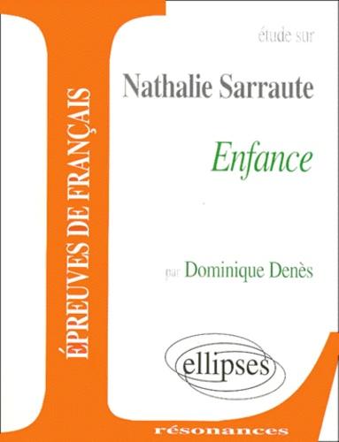 Etude Sur Nathalie Sarraute Enfance
