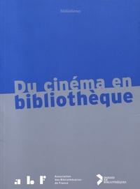 Dominique Rousselet et Julie Guillaumot - Du cinéma en bibliothèque.