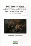 Dominique Saint-Pierre - Dictionnaire des hommes et des femmes politiques de l'Ain de 1789 à 2011.