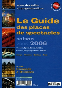 Corridashivernales.be Le Guide des places de spectacles - Saison 2005-2006 Image