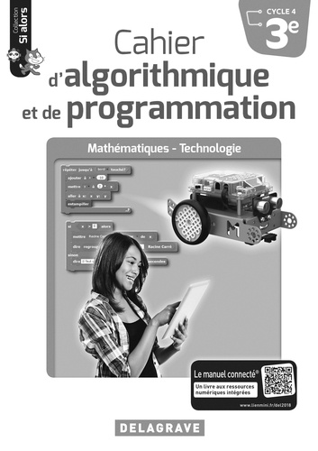 Dominique Sauzeau - Cahier d'algorithmique et de programmation 3e - Livre du professeur.