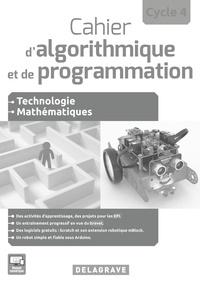 Deedr.fr Cahier d'algorithmique et de programmation Cycle 4 - Livre du professeur Image
