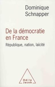 Deedr.fr De la démocratie en France - République, nation, laïcité Image
