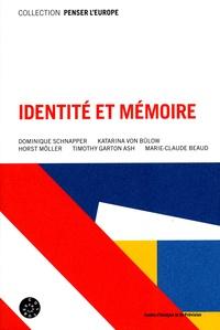Dominique Schnapper - Identité et mémoire.
