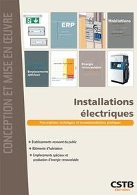 Dominique Serre - Installations électriques.