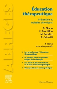 Dominique Simon et François Bourdillon - Education thérapeutique - Prévention et maladies chroniques.