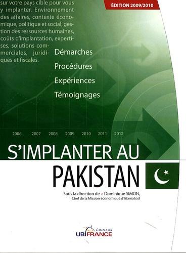Dominique Simon - S'implanter au Pakistan.