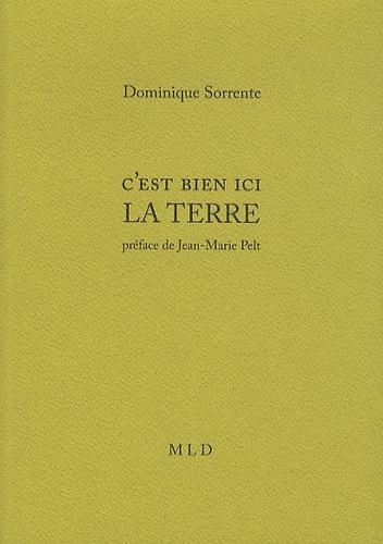 Dominique Sorrente - C'est bien ici la terre.