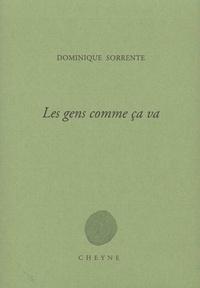 Dominique Sorrente - Les gens comme ça va.