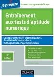 Dominique Souder - Entraînement aux tests d'aptitude numérique - 3e édition.