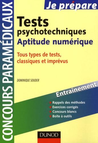 Dominique Souder - Tests psychotechniques - Aptitude numérique.