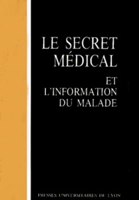 Openwetlab.it Le Secret médical et l'information du malade Image