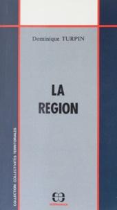 Dominique Turpin - La région.