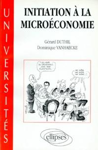 Dominique Vanhaecke et Gérard Duthil - .