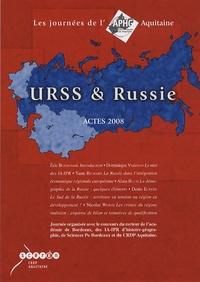 Dominique Varinois et Yann Richard - URSS et Russie - Actes 2008.