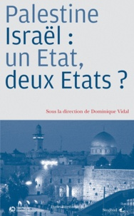 Deedr.fr Palestine/Israël : un Etat, deux Etats ? Image