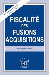 Dominique Villemot - Fiscalité des fusions-acquisitions.