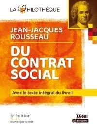 Dominique Weber - Du contrat social de Rousseau.