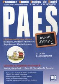 Domitille Dano et Elisabeth Asselineau - PAES : mode d'emploi.