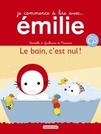 Domitille de Pressensé et Guillaume de Pressensé - Je commence à lire avec Emilie Tome 18 : Le bain, c'est nul !.