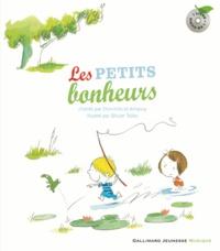 Domitille Lutz et Amaury de Crayencour - Les petits bonheurs. 1 CD audio
