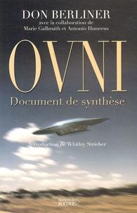 Don Berliner - OVNI - Document de synthèse.