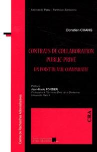 Donatien Chang - Contrats de collaboration public-privé - Un point de vue comparatif.