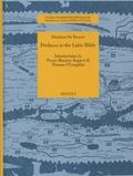 Donatien de Bruyne - Prefaces to the Latin Bible.