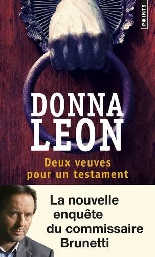 Donna Leon - Deux veuves pour un testament.