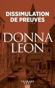 Donna Leon - Dissimulation de preuves.