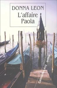 Lire des livres téléchargés sur ipad L'affaire Paola (French Edition) par Donna Leon