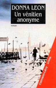 Livres électroniques téléchargements gratuits Un Vénitien anonyme DJVU en francais par Donna Leon
