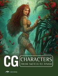 Dopress Books - CG Characters from Sketch to Finish.