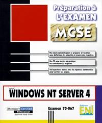 DORDOIGNE JOSE - Windows NT server 4.0 - Examen 70-067.