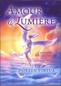 Doreen Virtue - Amour et lumière - 44 cartes et un livre explicatif.
