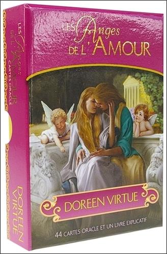 Doreen Virtue - Les Anges de l'Amour - 44 cartes oracle et un livre explicatif.