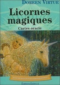 Scribd ebooks téléchargement gratuit Licornes magiques  - Cartes oracles