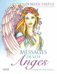 Doreen Virtue - Messages de vos anges - Album de coloriage.