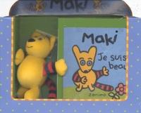 Doris Brasset et Fabienne Michot - Maki,je suis beau;coffret livre et peluche.