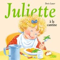 Juliette à la cantine- Avec une serviette de table - Doris Lauer |