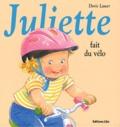 Doris Lauer - Juliette fait du vélo.
